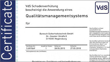 Zertifiziertes Qualit�tsmanagement